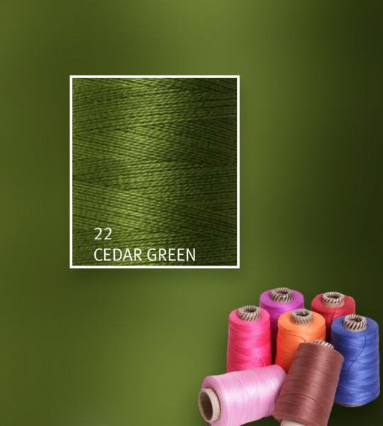 Baumwollgarn mercerisiert 5/2 - Cedar Green