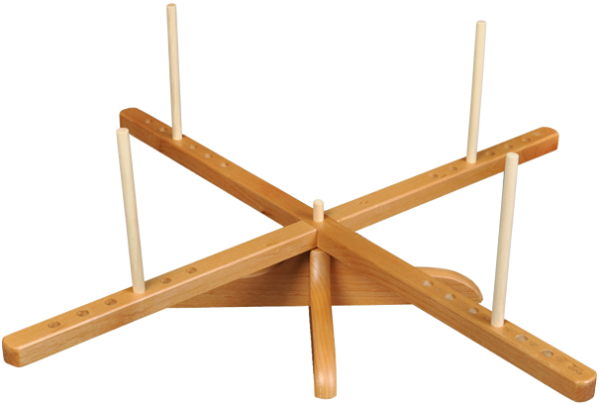 ChiaoGoo Tisch-Kreuzhaspel Holz