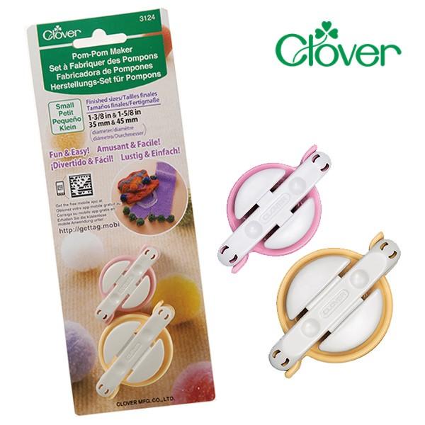Clover Herstellungs-Set für Pompons (klein)