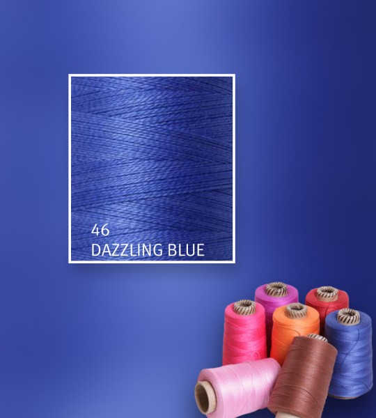 Baumwollgarn mercerisiert 5/2 - Dazzling Blue