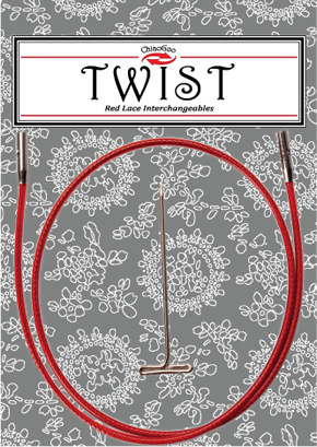 ChiaoGoo Twist Kabel Red - 55 cm