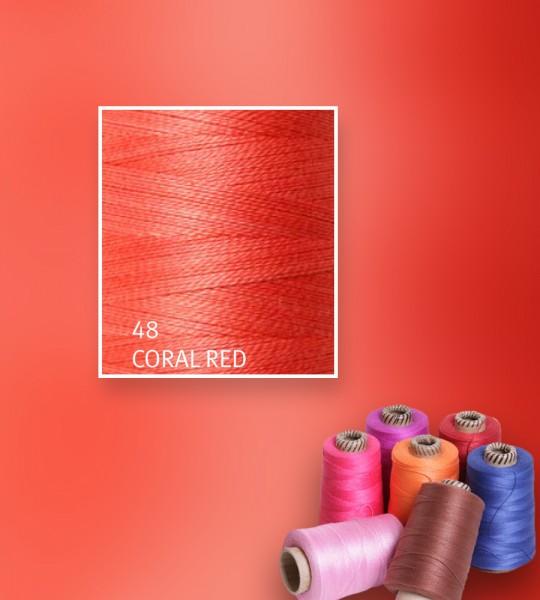 Baumwollgarn mercerisiert 5/2 - Coral Red