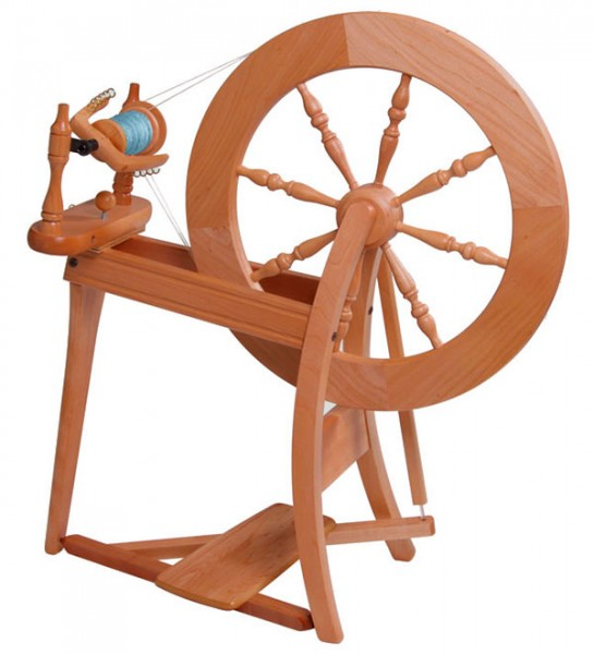 Spinnrad Ashford Traditional zweifädig lackiert