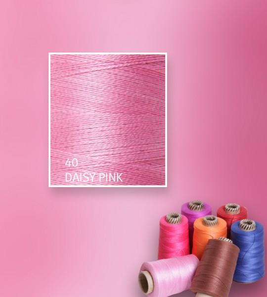 Baumwollgarn mercerisiert 5/2 - Daisy Pink