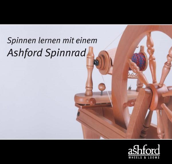 Spinnen lernen mit einem Ashford Spinnrad