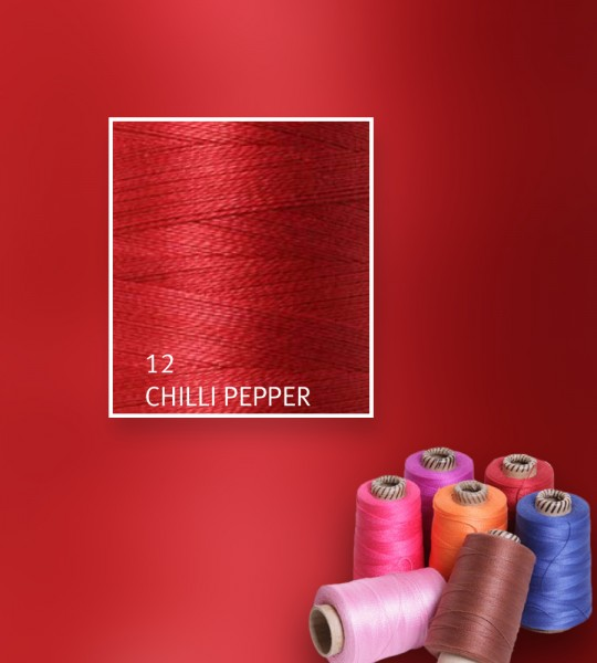 Baumwollgarn mercerisiert 5/2 - Chilli Pepper