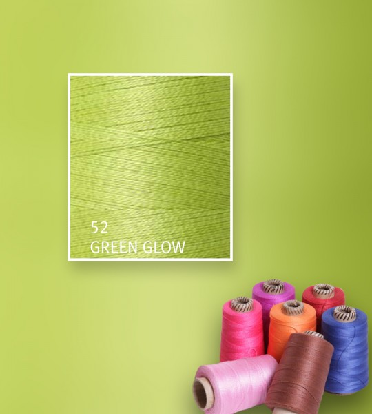 Baumwollgarn mercerisiert 5/2 - Green Glow