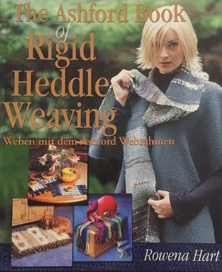 Buch - The Ashford Book of Rigid Heddle Weaving - Deutsch